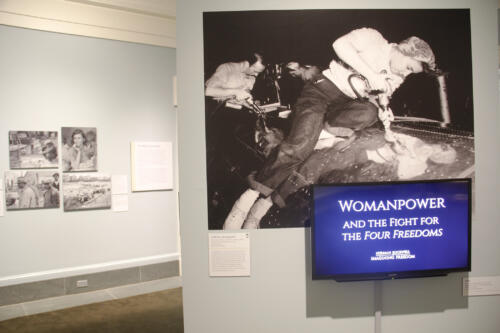 Museum Photo Panel for The Fight for the Four Freedoms