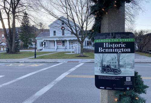 Museum Street Exhibit Signs